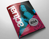 Indesign Magazine Template v.06