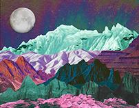 Midnight Oil (Collage)