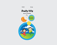 Fruity Vits MULTI-VITAMINS For KID's