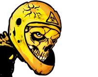 Rider skeleton