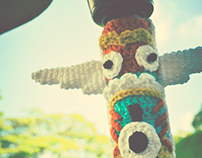 The Fuzz | Yarn Bombing Exhibition | 2012