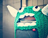 Hanasaurusrex Yarn Bombs | Austin—Honolulu | 2012–2013