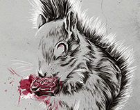 Zombie Squirrel