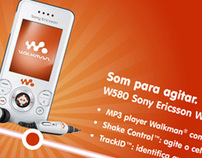 Tela touchscreen / Sony Ericsson