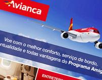Proposta de Fanpage no Facebook / Avianca Brasil