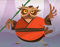 Kung-Fu Owl