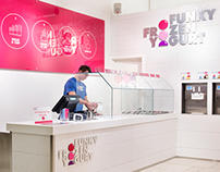 Funky Frozen Yogurt (Retail Identity)