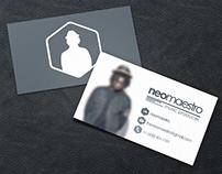 [Business Card & Logotype] NeoMaestro (2014)