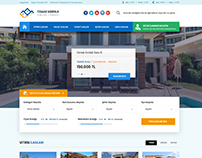 Real Estate WebTemplate Design
