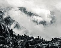 Wolkenspiel im Rofan