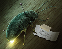 Lamp. poster