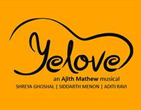 'Yelove' - Calligraphy Album title