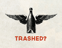 I got a little bit trashed - Infographic