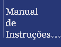 Manual de Instruções... – Design Editorial