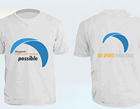 Sky Sports Paragliding T-shirt
