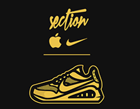 Section Clothing: Golden Boy ft Nike & Apple