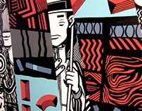 Lennard Schuurmans X Dumboh Wall Painting