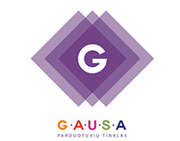 """Rebranding project for """"GAUSA"""""""
