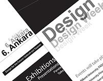 6. Ankara Design Week Poster Design