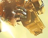 Falling Roboto Flyer