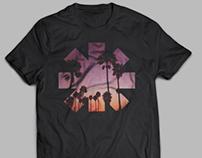 RHCP Halftone T-shirt