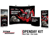 Openday Kit for Titan Machinery Serbia