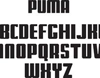 Puma Typeface
