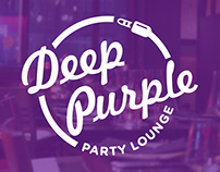 Deep Purple - Visual Identity for a Music Themed Lounge