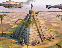 """A temple for Anubis"""