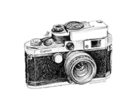 Camera Bag Illustrations