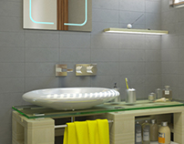Palette Bathroom - Ideal Standart competition 2013