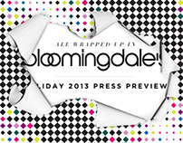 Bloomingdale's Holiday Press Preview
