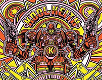 "Kool Keith Album Cover ""Demolition Crash"""