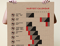 Crop to Cup Coffee | Harvest Poster
