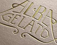 Alba Gelato   Logo Concept