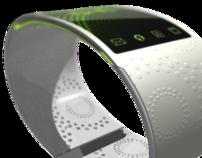 Wrist phone concept