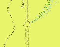 Michelle Shocked Event Promo Card (COPY)