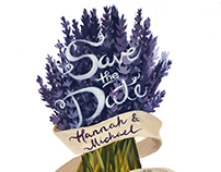 Save the Date - Hannah & Michael