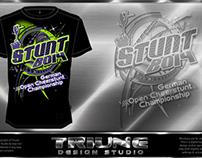 German Cheer Stunt Comp 2014 Event Tshirt