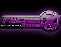 Fusion X 3D logo