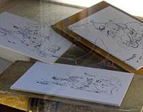Paper drawings 2014