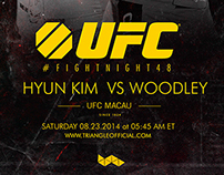 UFC MACAO / KIM VS WOODLEY