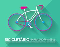 Biciletário BarraShoppingSul