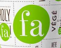 Falafel Avenue Branding