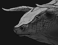 Armor Bull // Creature Design