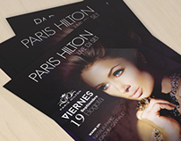 Flyer, PARIS HILTON - LIVE DJ SET.