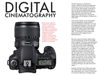 Digital Cinematography - Print Concept