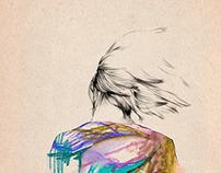 Girl + Pencil
