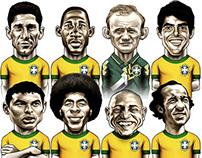 100 Anos de Seleção Brasileira / GloboEsporte.com
