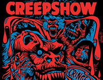 Creepshow Blacklight Silkscreen Print